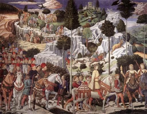 Cavalcata Magi - Benozzo Gozzoli - Pal. Medici Riccardi