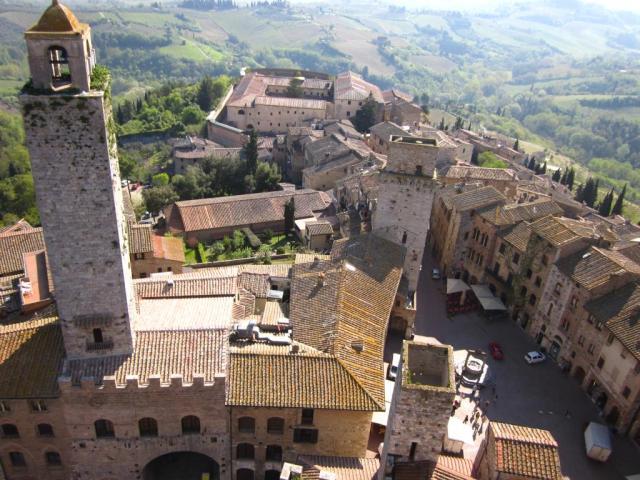 Vista dalla Torre Grossa