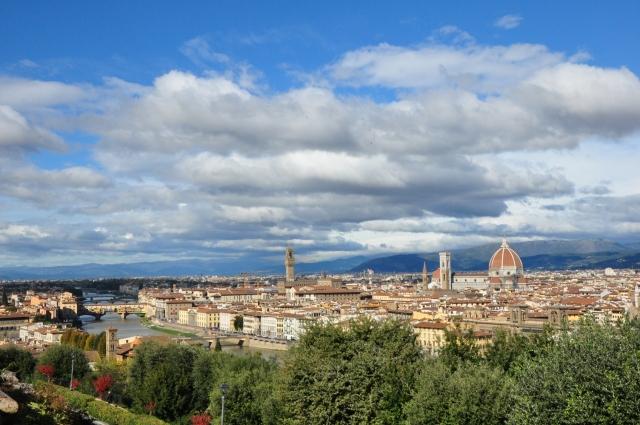 Firenza vista da P.le Michelangelo