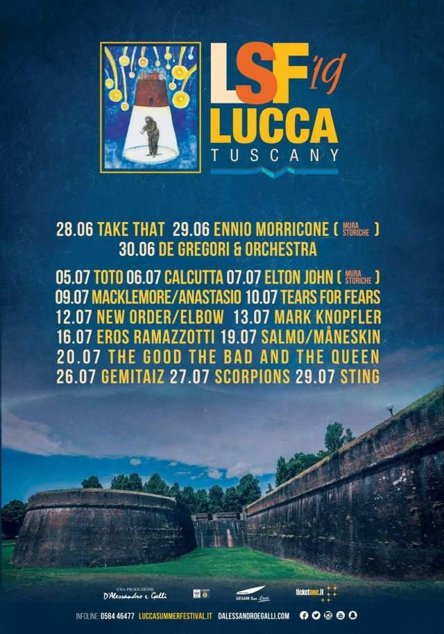 Lucca Summer Festival 2019